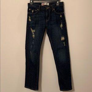Levi's 511 Slim Jeans Distressed 14
